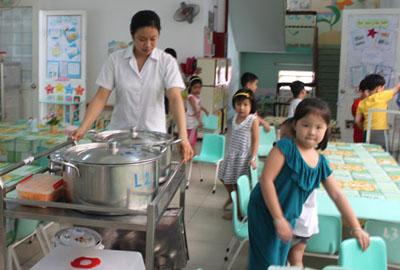 Thiết kế, thi công bếp ăn trường mầm non, tiểu học