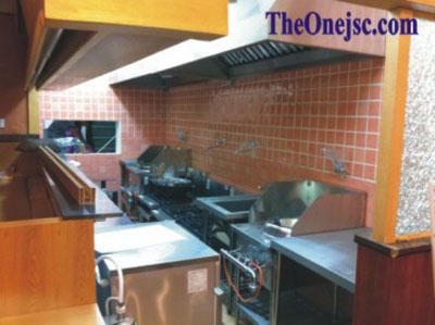 Thi công hệ thống bếp nhà hàng Nhật - 25 Đường Thành