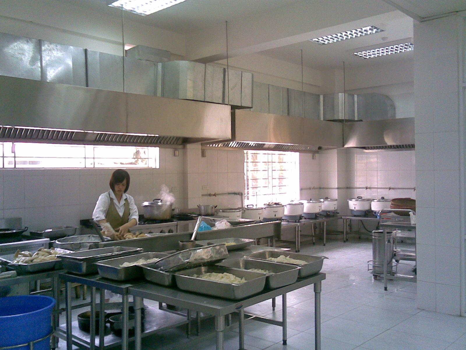Hệ thống bếp công nghiệp 3, thiết bị bếp công nghiệp 3