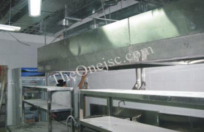 Lắp đặt hệ thống bếp inox và thang tải hàng cho nhà hàng