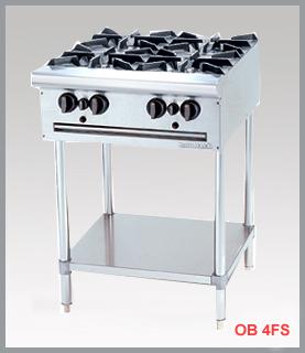 Bếp âu 4 họng FS, Bếp âu công nghiệp