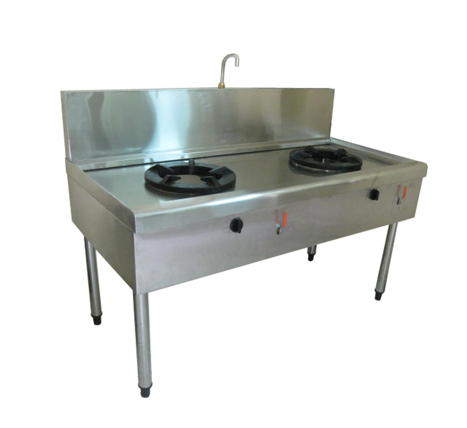 Bếp gas công nghiệp 2 bếp