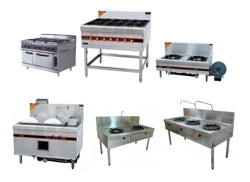 bếp ga công nghiệp 2, thiết bị bếp công nghiệp
