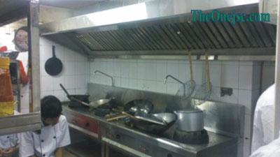 Hệ thống bếp inox cho nhà hàng 36 Quang Trung