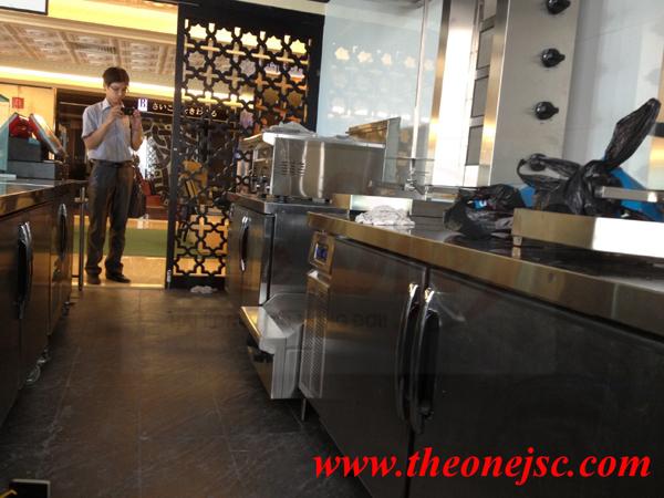 Cung cấp thiết bị bếp nhà hàng BEJRUT