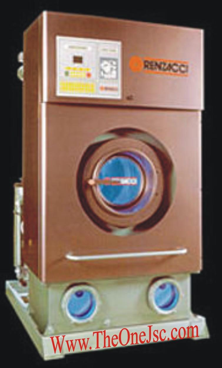Máy Giặt Khô Công Nghiệp RENZACCI 12kg, máy giặt công nghiệp, thiết bị giặt là công nghiệp