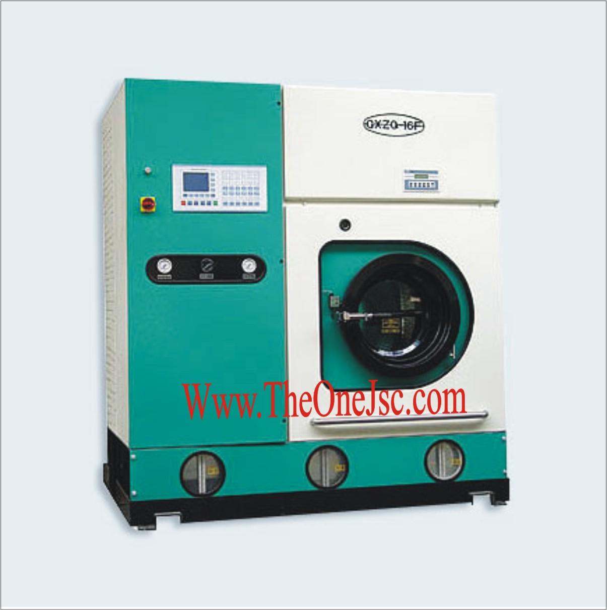máy giặt khô tự động