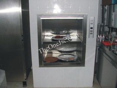 Thang máy chở thực phẩm