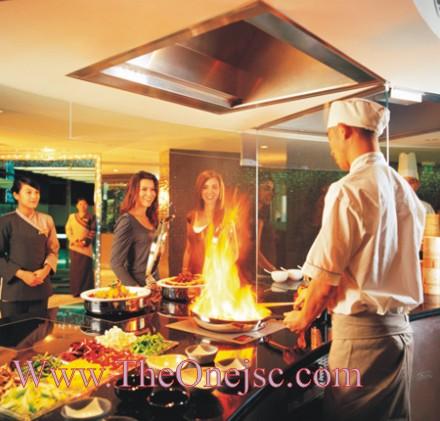 Bếp nhà hàng, thiết kế bếp ăn công nghiệp, lắp đặt bếp công nghiệp