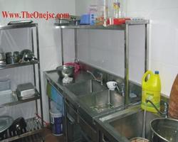 Chậu rửa inox, Hệ thống bếp công nghiệp