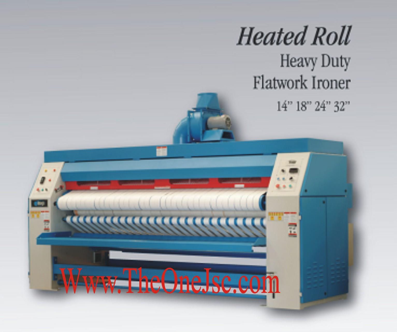 Máy ủi công suất lớn, Máy là ủi công nghiệp