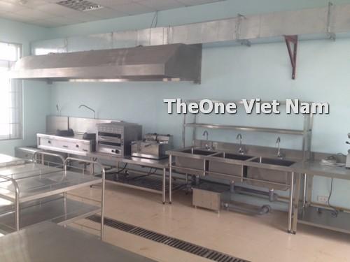 Cung cấp, thiết kế bếp ăn chuyên gia 200 suất tại nhà máy Thiên Nam Sunrise Nam Định