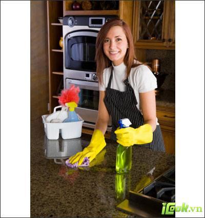 Cùng vệ sinh bếp ăn đảm bảo sức khỏe cho cả nhà